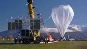 Globo estratosférico lanzado por la US Army