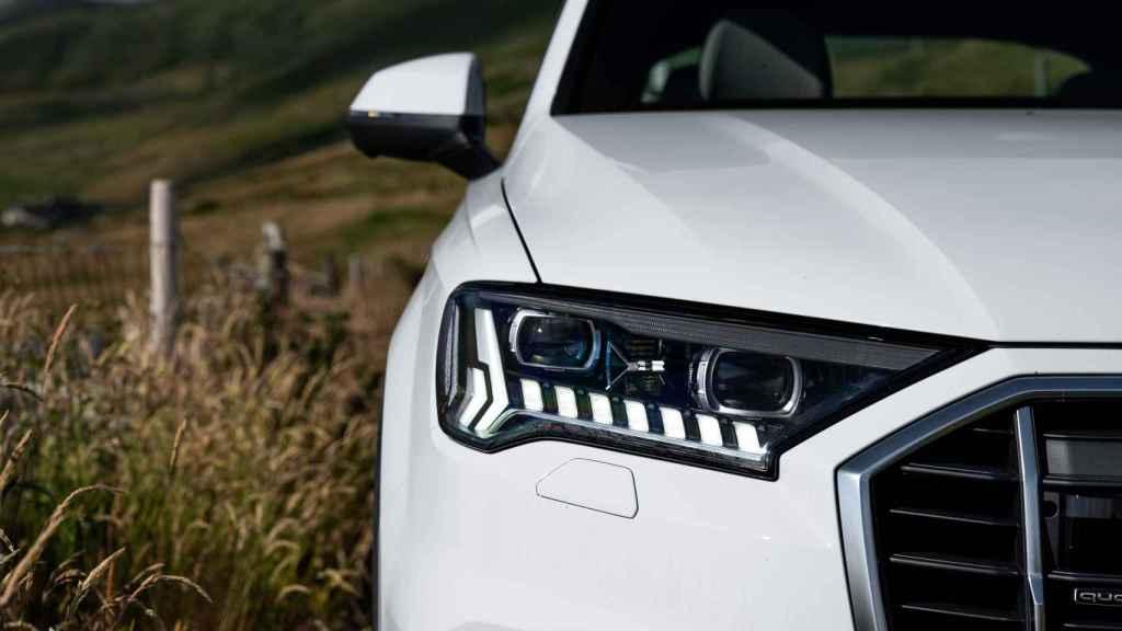 Detalle de los grupos ópticos del Audi Q7