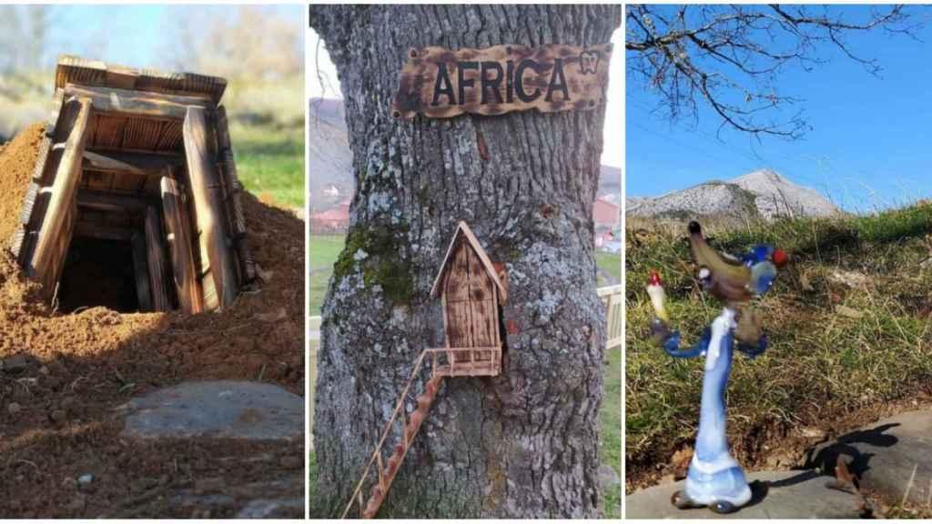 Algunas de las sorpresas que se encontrarán los niños en 'La ruta de tus sueños' para buscar al Ratoncito Pérez.