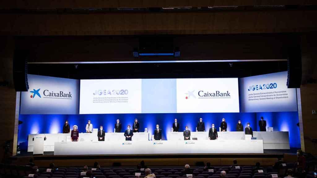 Junta de accionistas de CaixaBank.