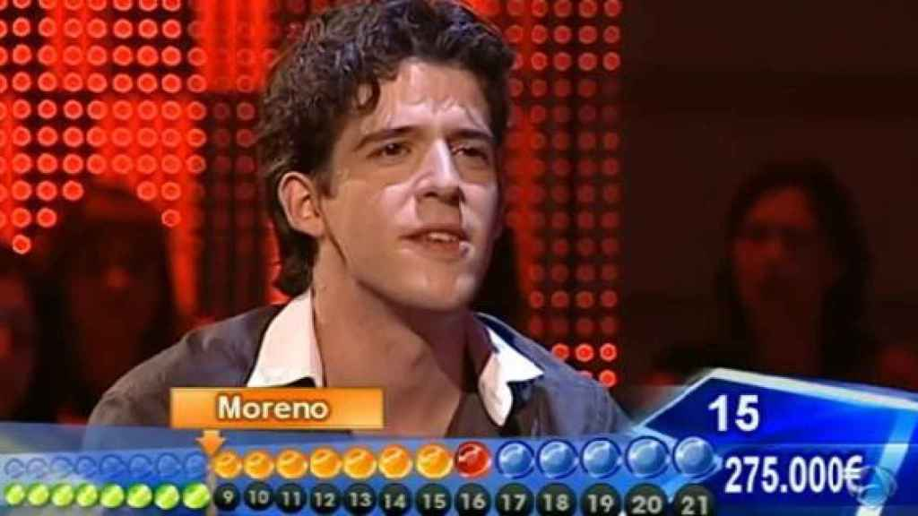David Leo se llevó 54.000 euros en 'Avanti' en 2012.