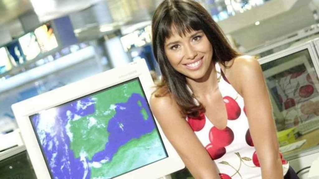 Minerva, en la época en la que estaba a cargo de la sección meteorológica de los informativos de Antena 3.