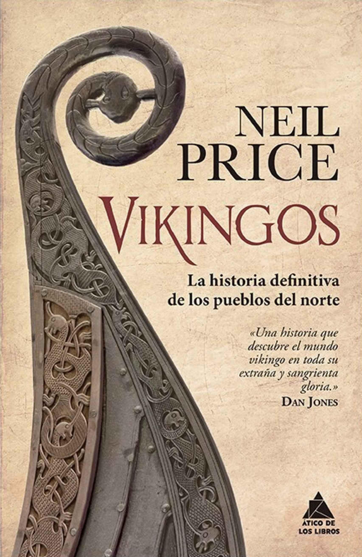 Portada de 'Vikingos'.