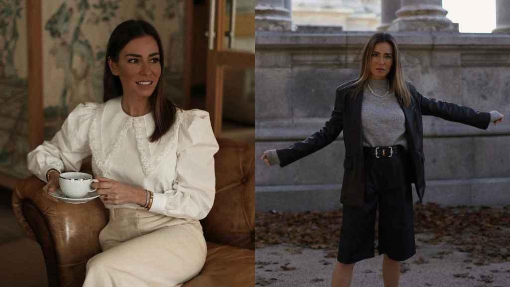 Marta Carriedo sorprende con dos estilismos perfectos para lucir en estas fechas.