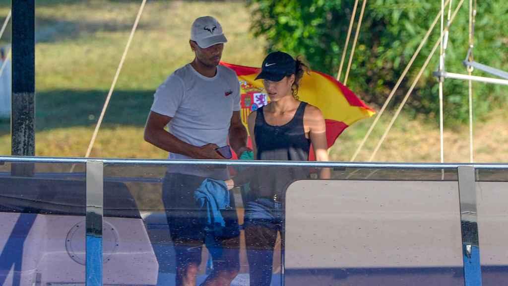 Rafa Nadal y Xisca Perelló, el pasado mes de junio en Mallorca.