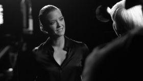 María Casado en una imagen tomada durante una entrevista en 'Escena en blanco y negro'.
