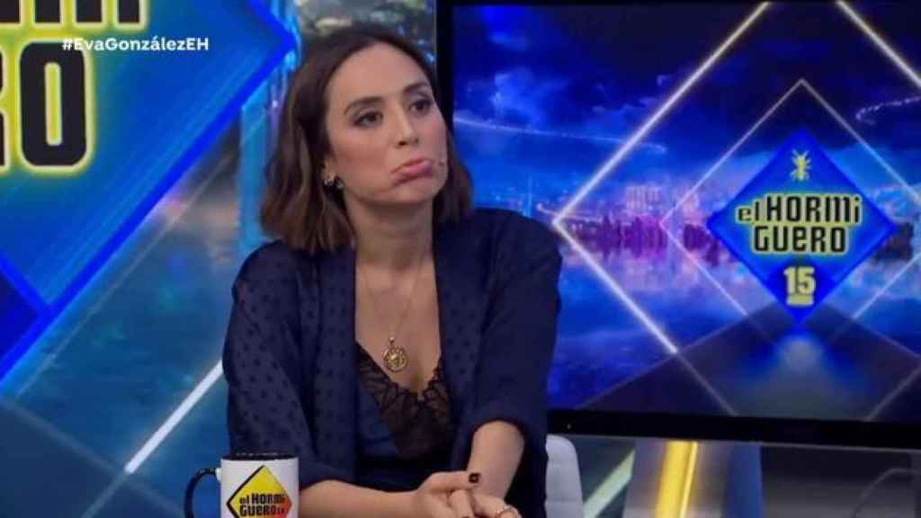 Tamara Falcó, este miércoles por la noche en 'El Hormiguero'.