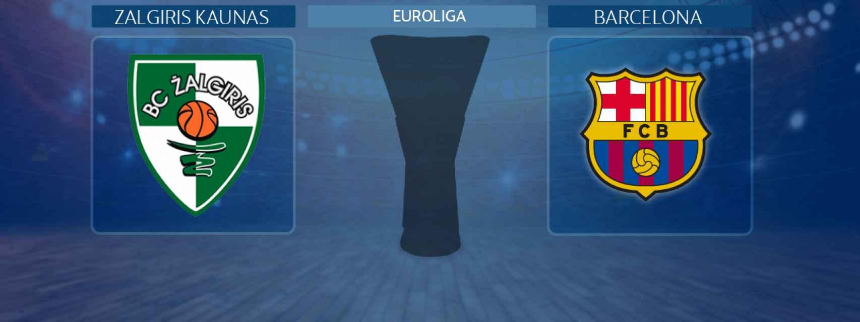 Zalgiris Kaunas - Barcelona, partido de la Euroliga