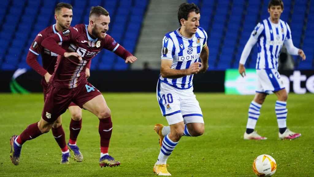Real Sociedad-Rijeka