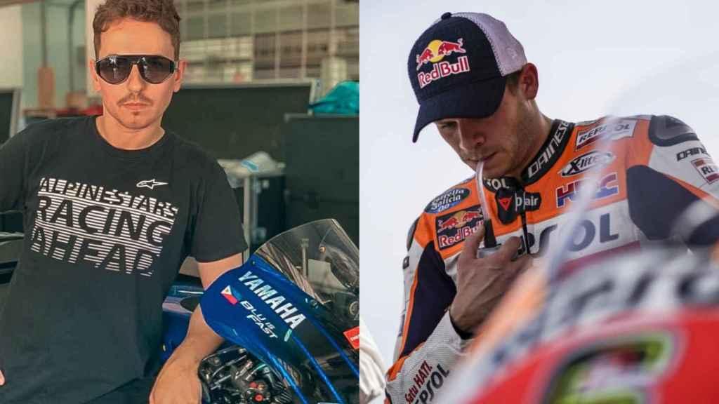 Jorge Lorenzo y Stefan Bradl