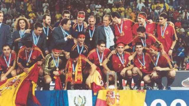 España celebra el Mundial de fútbol sala conseguido en Guatemala