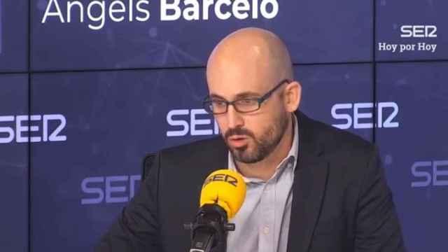 El secretario de Estado de Derechos Sociales, Nacho Álvarez, este jueves en la SER.