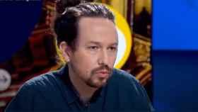 Pablo Iglesias, entrevistado en TVE.