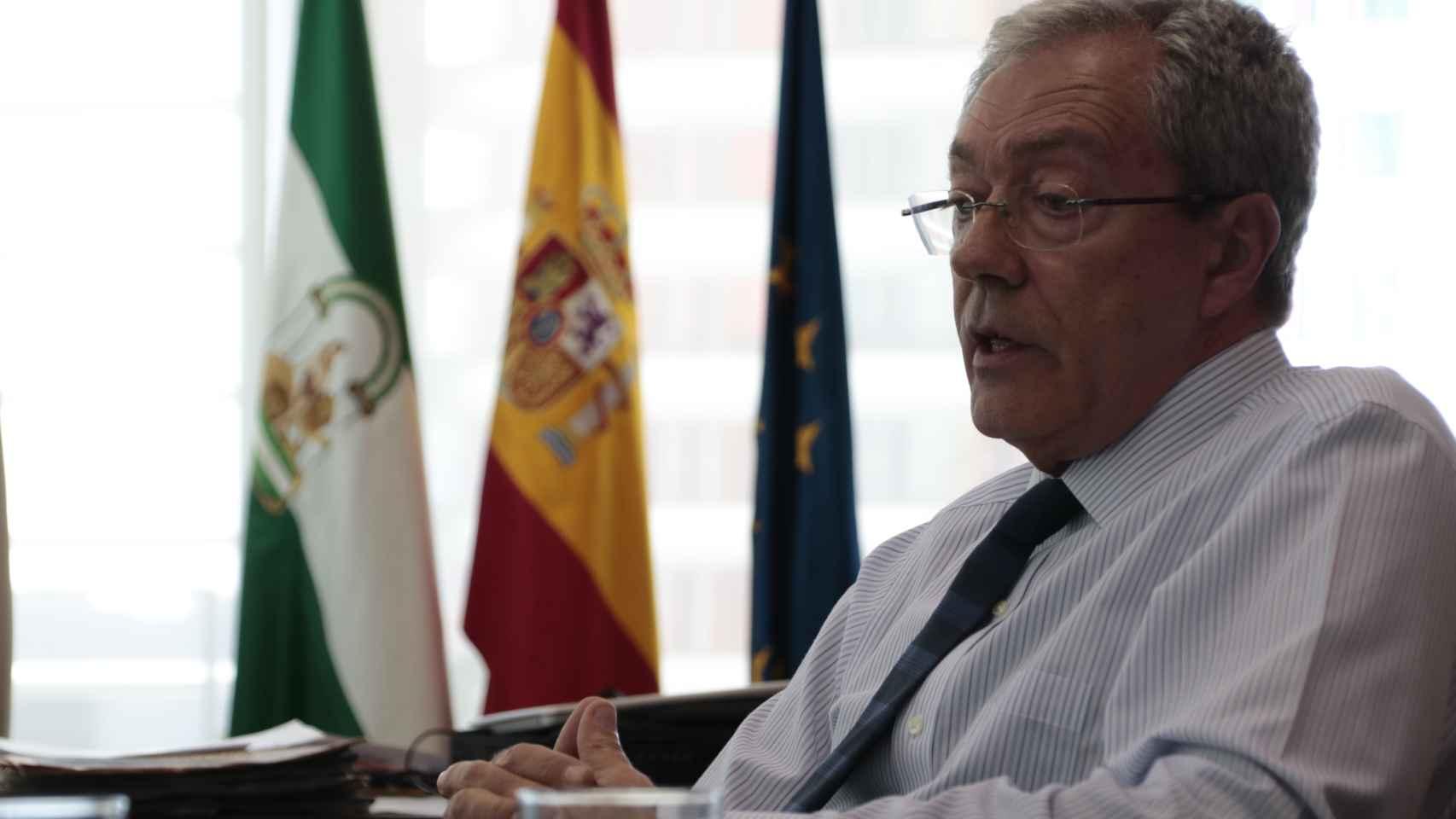 Rogelio Velasco, en su despacho.