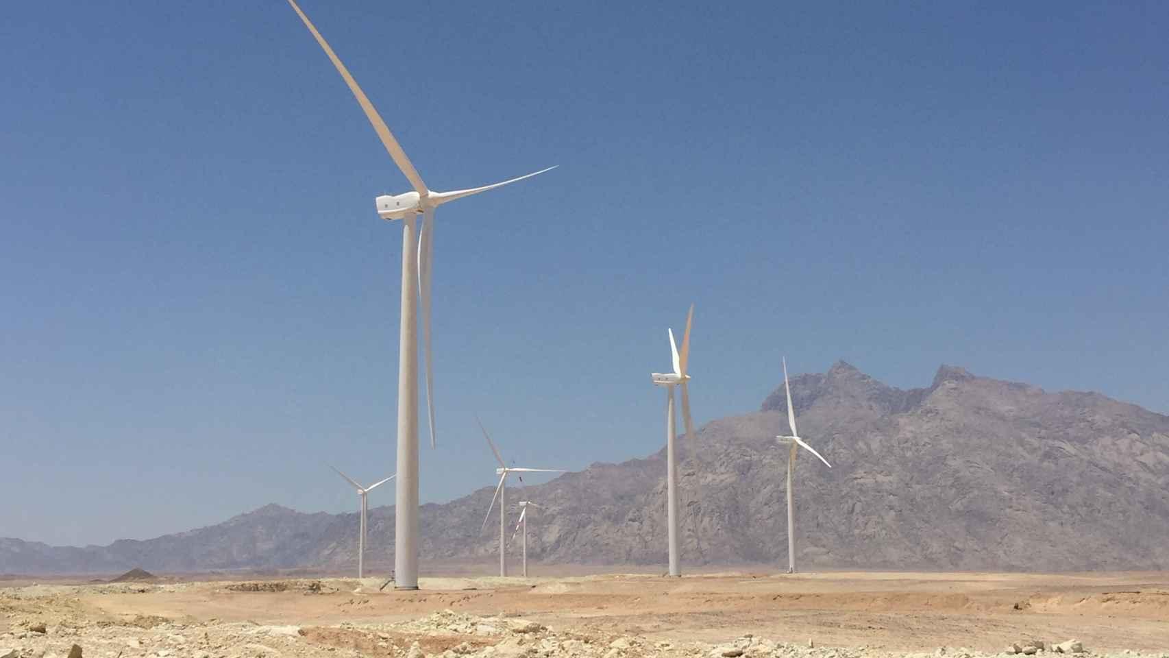 La española GES instala sus aerogeneradores en un parque eólico de 250 MW en Egipto