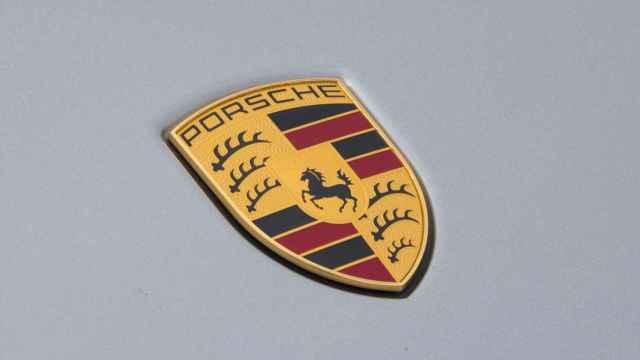 Emblema de la marca Porsche.