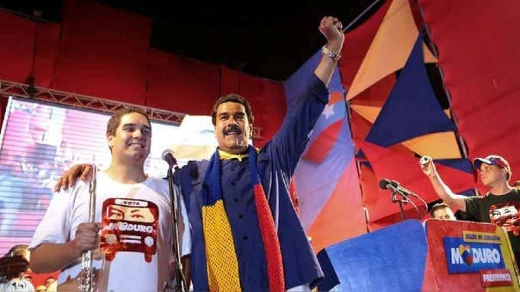'Nicolasito', el hijo del presidente venezolano Nicolás Maduro.