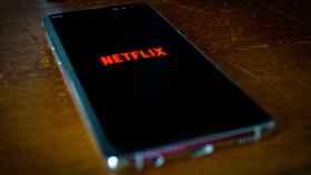 Un terminal móvil con la aplicación de Netflix.