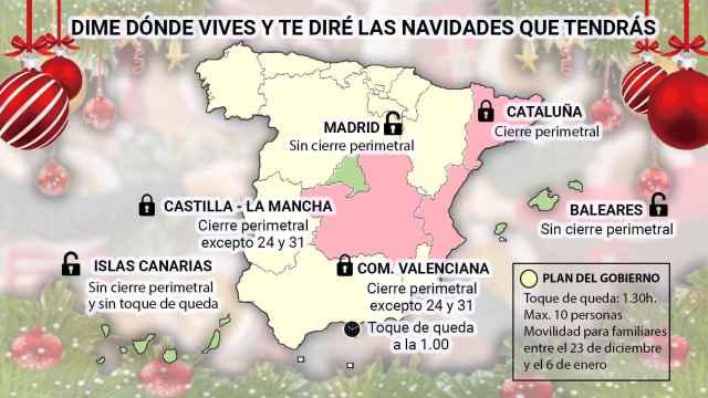 Mapa por comunidades.