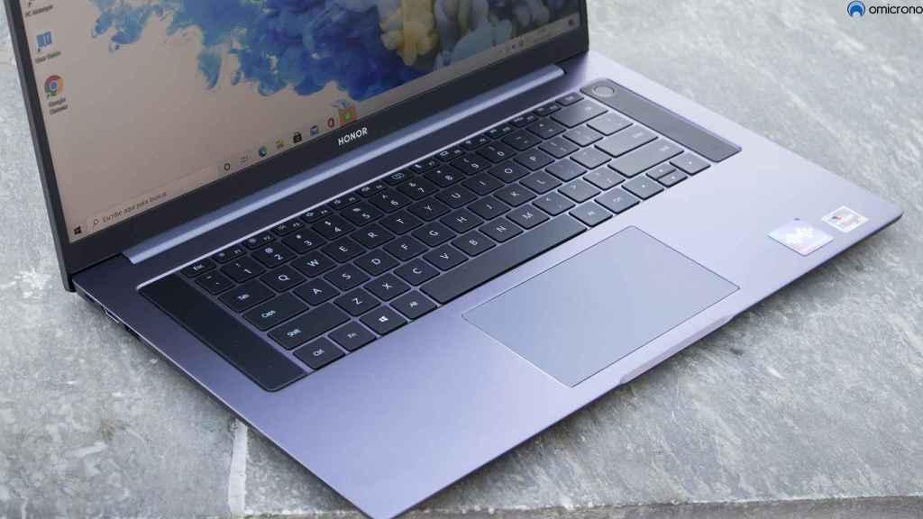 Teclado del MagicBook Pro.