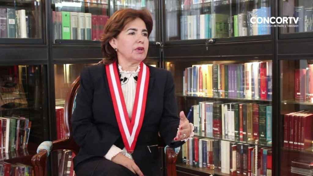 Elvia Barrios.