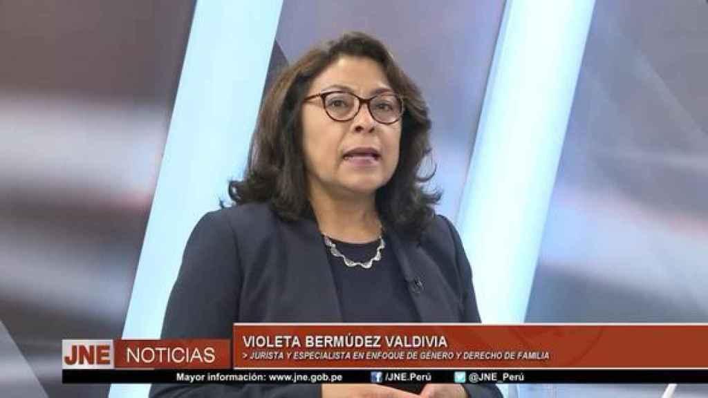 Violeta Bermúdez.