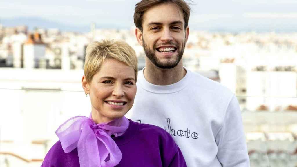 Soraya Arnelas y Miguel Ángel Herrera en la presentación de su marca, Chochete.