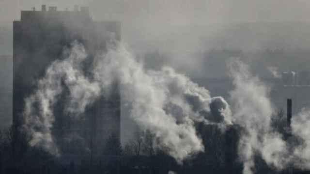 Imagen de archivo de una zona contaminada por gases.
