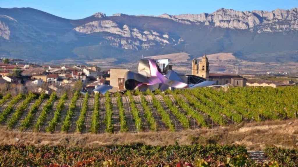 Bodega Marqués de Riscal en Elciego (Rioja Alavesa).