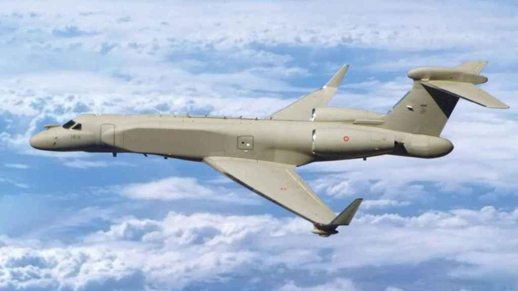 Gulfstream 550 modificado a avión espía