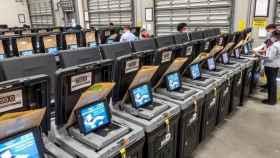 Máquina para votar en Estados Unidos en las elecciones del 3 de noviembre de 2020. Efe