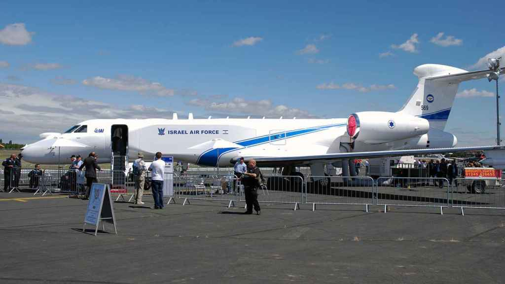 Gulfstream 550 de Israel