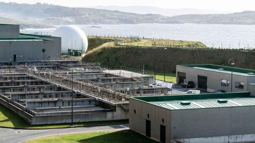 Depuradora de aguas de La Coruña