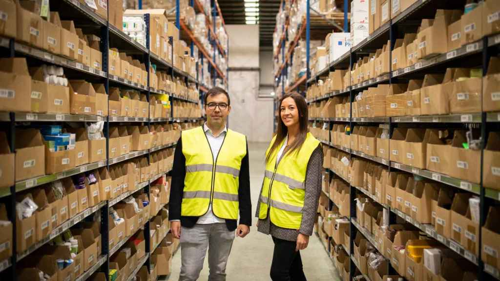 Reme es directora de Estrategia de Negocio de Atida y Javier, director de Desarrollo 'e-Commerce'.