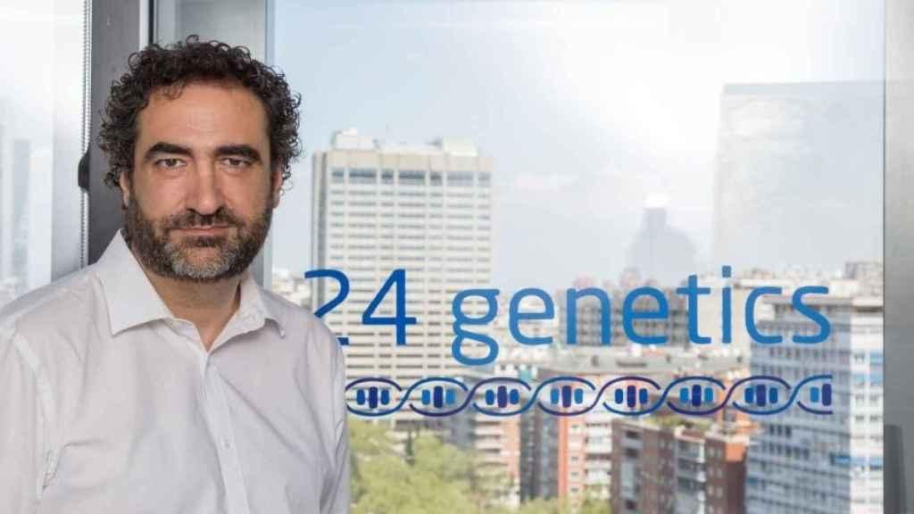 Nacho Esteban, fundador de 24Genetics.