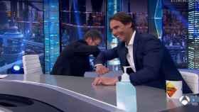 Pablo Motos y Rafa Nadal en 'El Hormiguero' (Atresmedia)