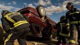 accidente bustillo bomberos leon 1