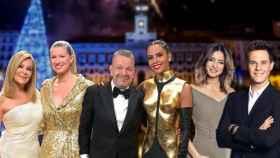 Los presentadores de las Campanadas de TVE, Antena 3 y Mediaset en montaje de JALEOS.