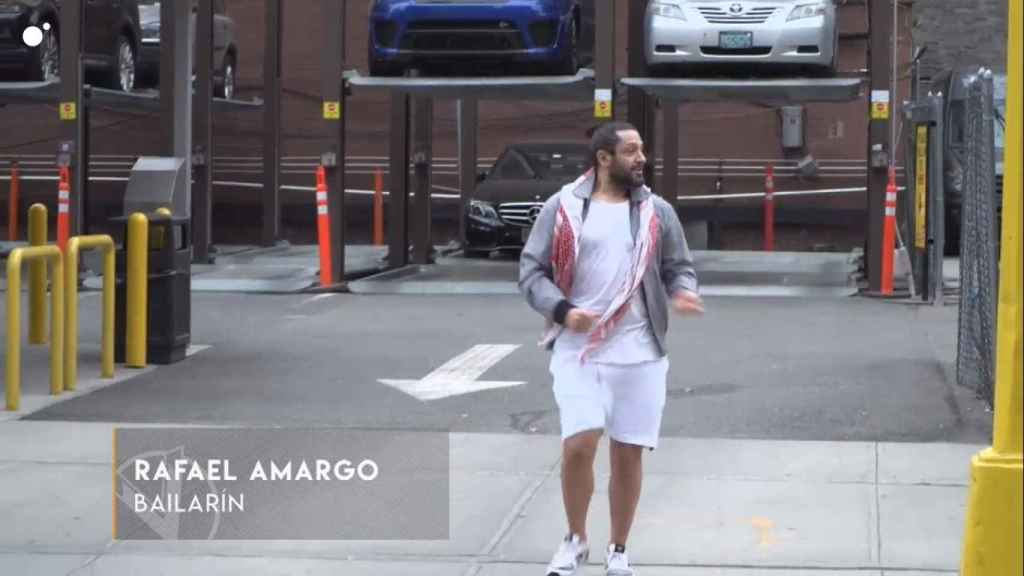Rafael Amargo, en 'Callejeros Viajeros', emitido en Cuatro en 2018.