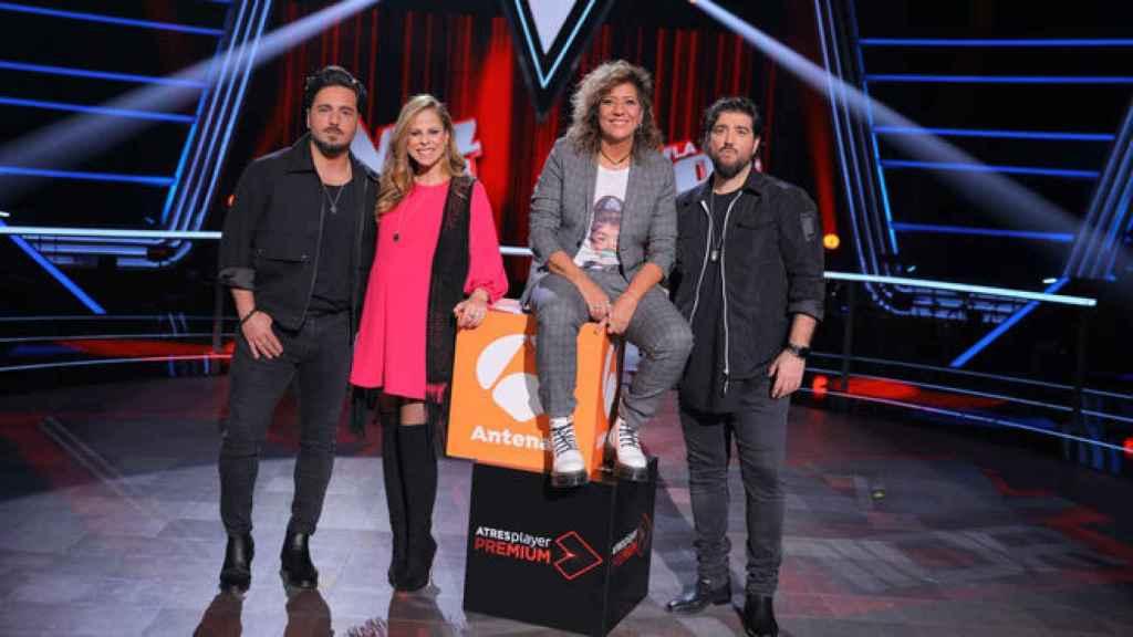 David Bustamante, Rosana, Antonio Orozco y Pastora Soler serán los coaches de la segunda edición de 'La Voz Senior'.