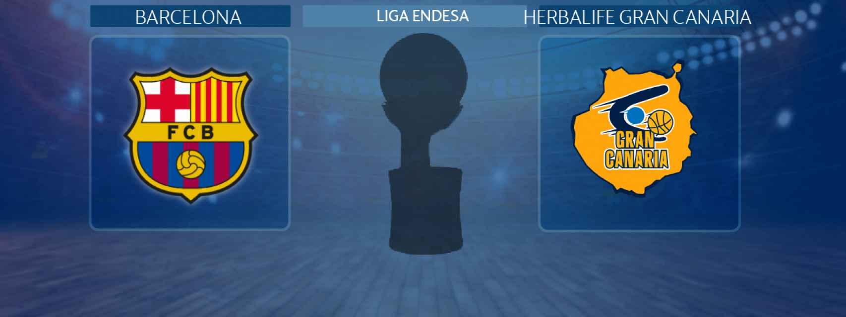 Barcelona - Herbalife Gran Canaria, partido de la Liga Endesa