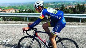 El ciclista italiano Michael Antonelli