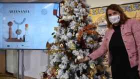 Tita García, alcaldesa de Talavera, en una imagen de esta semana