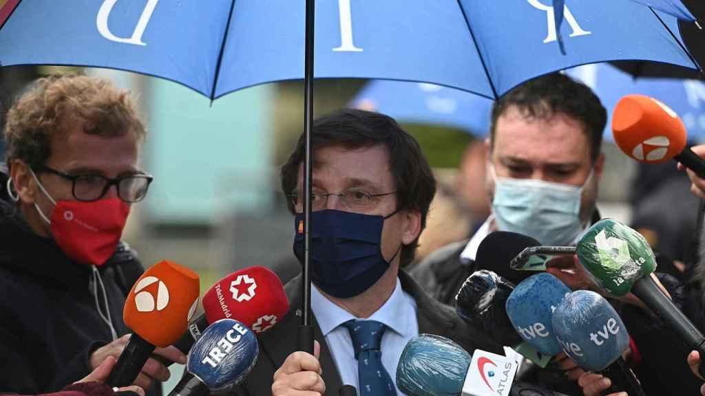 José Luis Martínez-Almeida, alcalde de Madrid y portavoz del PP.