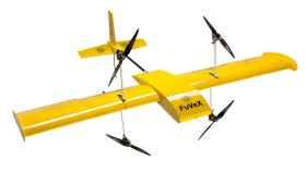 Uno de los drones de largo alcance de FuVeX