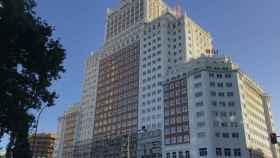 La socimi Inbest es dueña de los locales comerciales del Edificio España (Madrid).