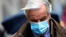 El negociador de la UE para el 'brexit', Michel Barnier, durante las negociaciones esta semana en Londres