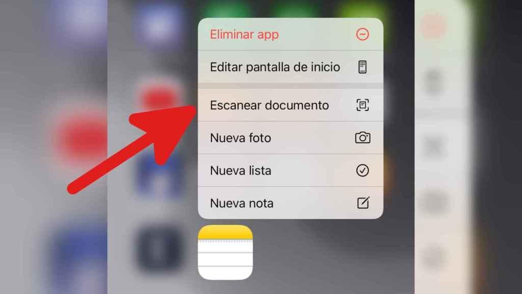 Escanear documentos con el iPhone