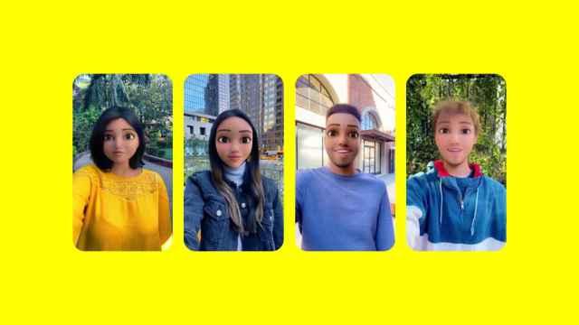 Filtro de Snapchat