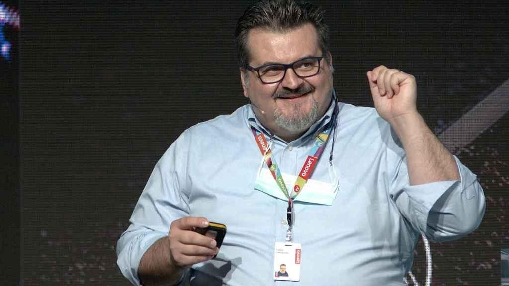 Fabio Cappochi, director de producto de Lenovo.